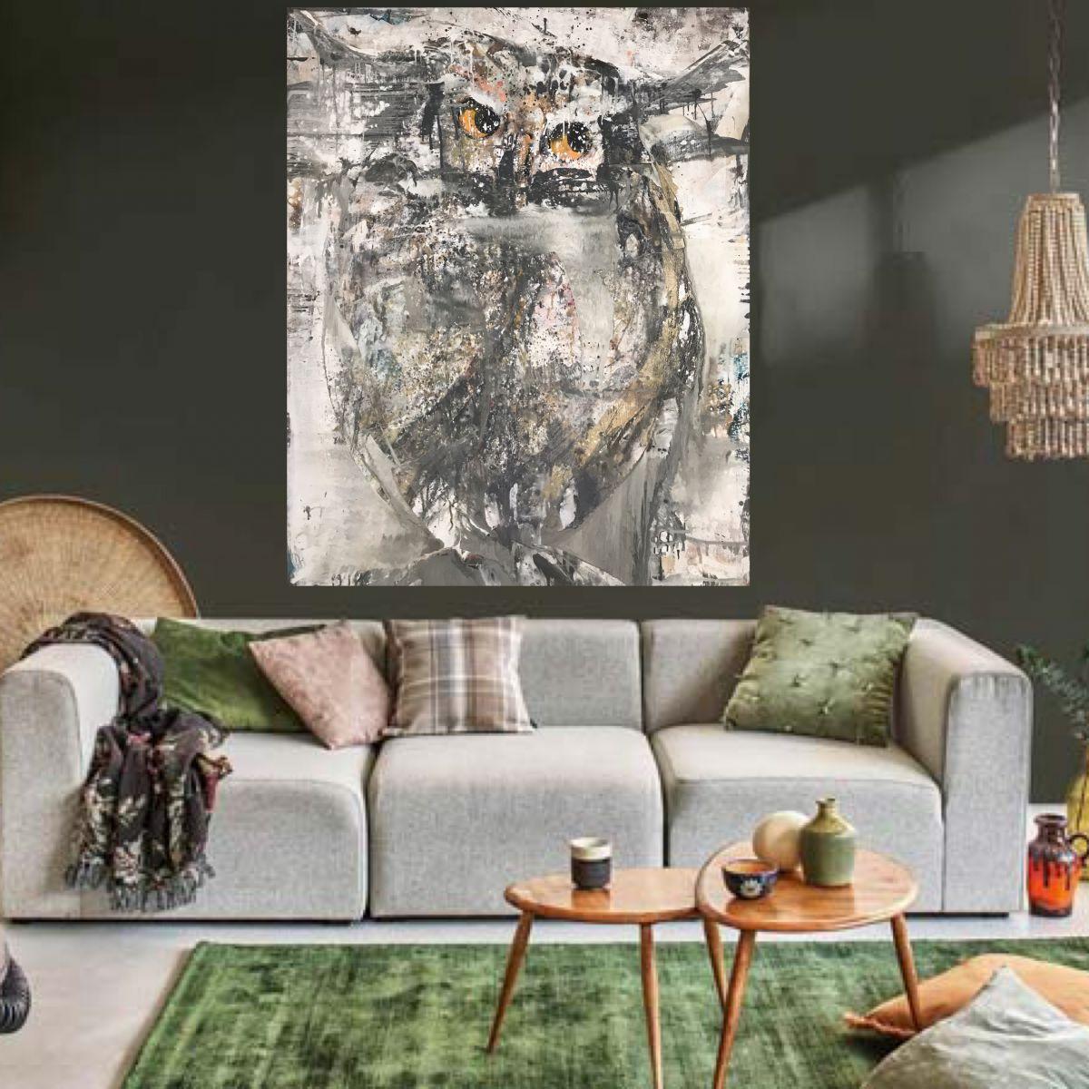Kathalijne Hes - Geduldig 120x150cm interieur