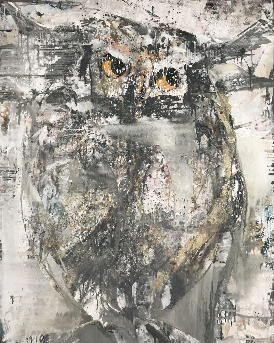 Kathalijne Hes - Geduldig 120x150cm