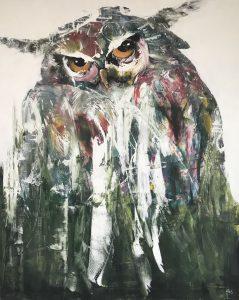 Kathalijne Hes - Sterk 120x150cm