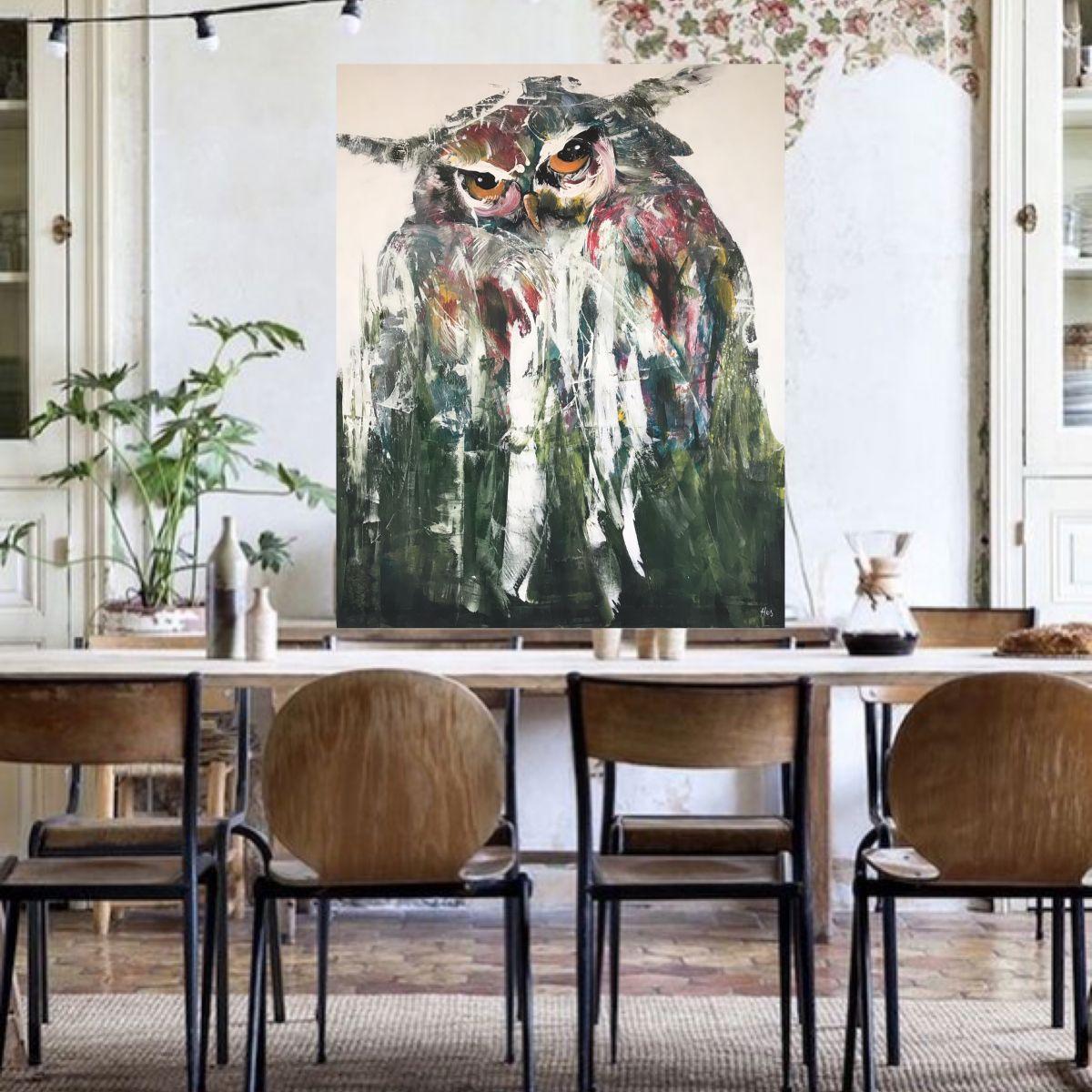 Kathalijne Hes - Sterk 120x150cm interieur