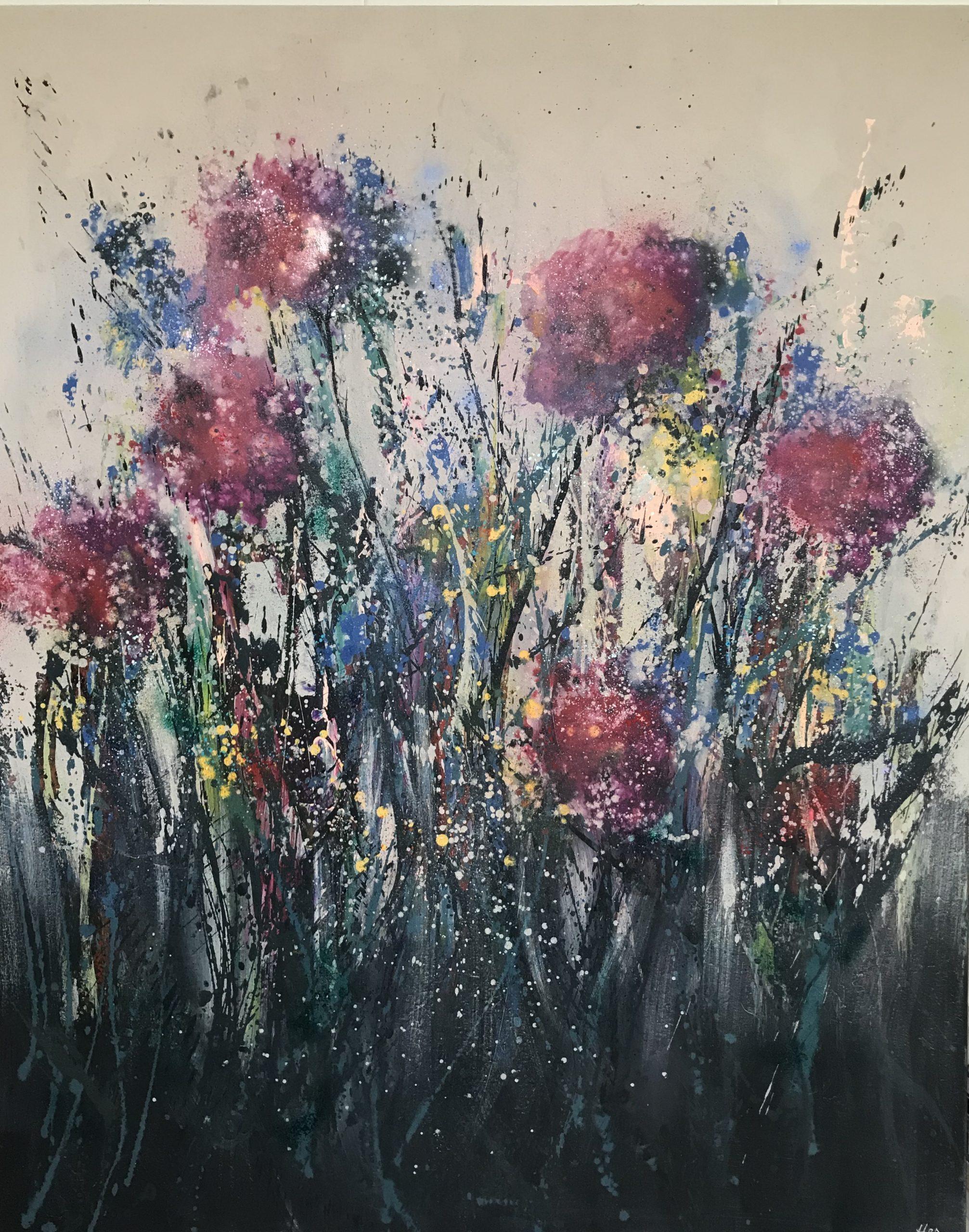 Wild flowers 120x150cm